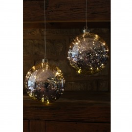 Glass Bauble - Gold