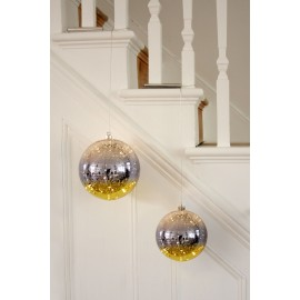 Glass Bauble  Gold (15cm)