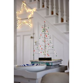 Black Festive Tree - with Pom poms