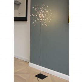 Floor Starburst 40cm black - mains