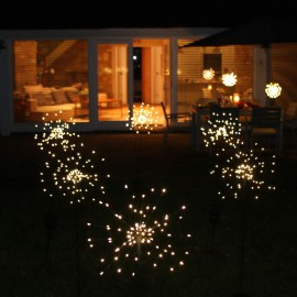 Solar Starburst - Outdoor Stake Light
